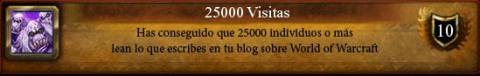 logro 25000